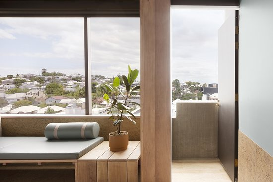 The Calile Hotel: The Urban Terrace Room balcony