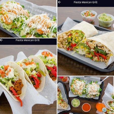Fiesta Mexican Grill: Tacos/burritos/tostadas/quesadillas