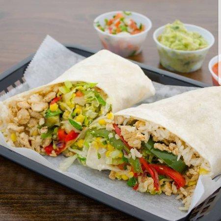 Fiesta Mexican Grill: Chicken burrito