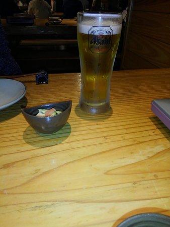 付だしと生ビール