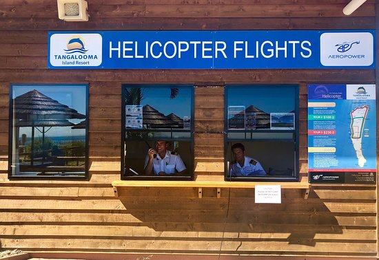 Tangalooma Helicopter Service: Where to book