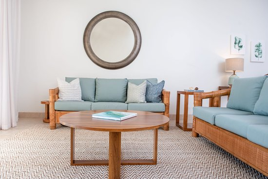 All of our suites offer a spacious living room