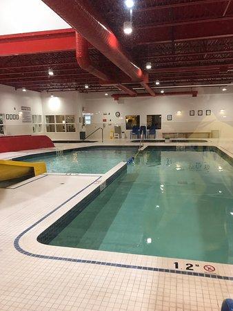 Pool and Waterslides