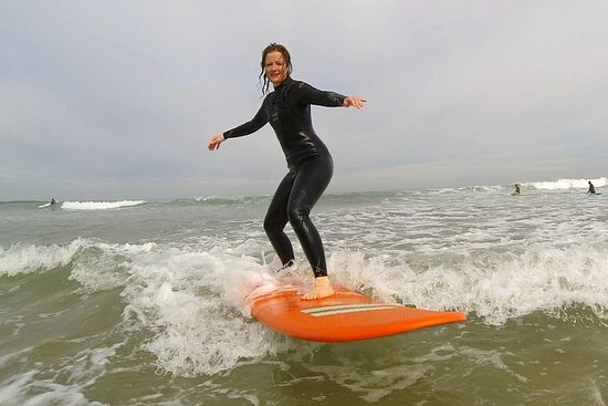 1 Hour Private Surf Lesson in Biarritz