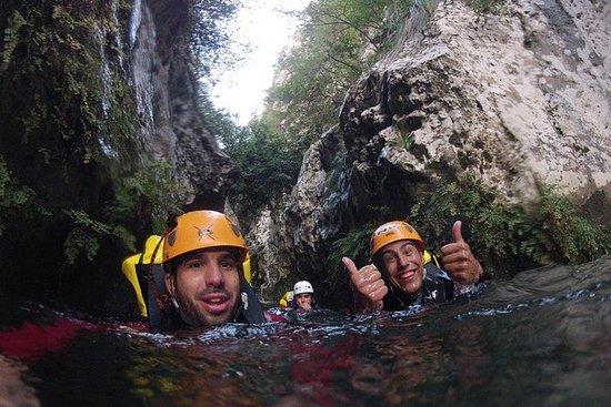 Esperienza di canyoning per piccoli