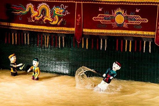 Show de marionetes de água vietnamita...