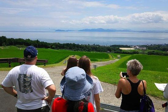 Bike Tour of Lake Biwa fra Kyoto