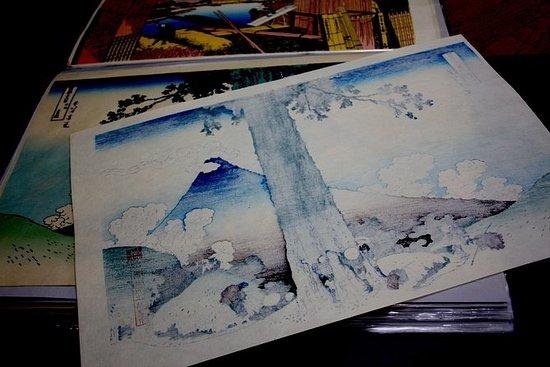 日本の「浮世絵」体験:東京アーティストに出会う