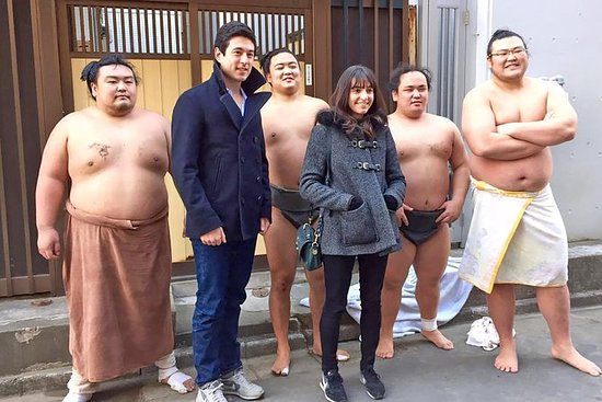Sumo Practice Guided Morning Tour and...