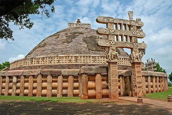 Excursão à terra de Sanchi Stupa de...