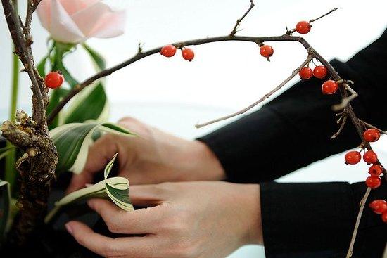 京都での生け花セラピー