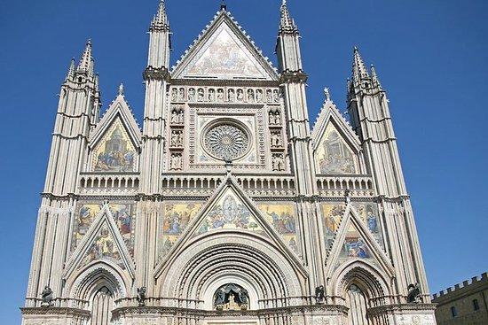 Ein Tagesausflug nach Orvieto und...