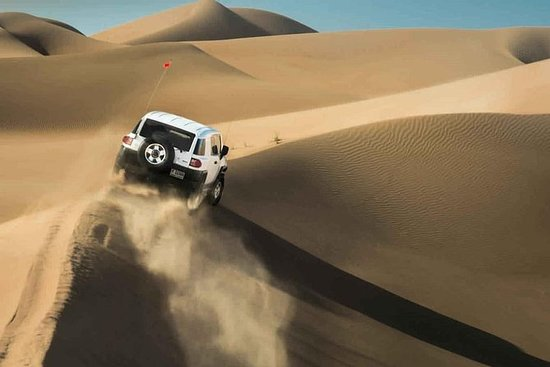 Abu Dhabi Morgen Wüste Safari - 4x4...