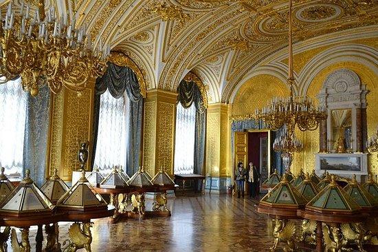 聖彼得堡冬宮博物館和印象派的私人之旅