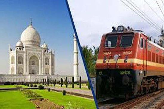 Tour privado de Taj Mahal y Agra en...