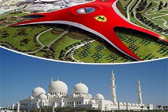 Abu Dhabi com a ferrari Private Tour...