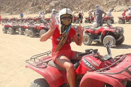 Excursion en quad de Sharm El Sheikh