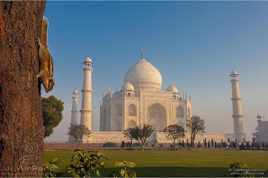 One Day Taj Mahal e Agra Tour de trem...