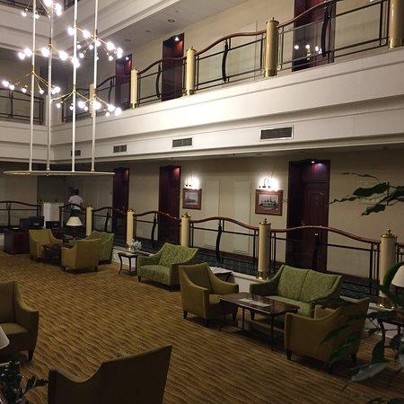 Moscow Marriott Tverskaya Hotel: На 4-м этаже