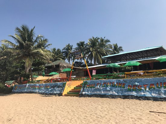 Best beach front on Kudle Beach