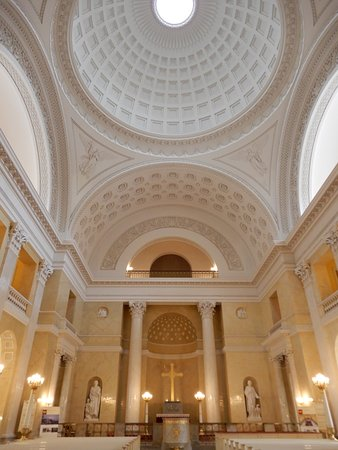 Arched ceiling and the dome