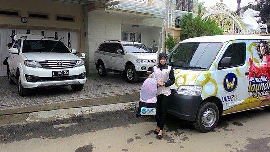 Медан, Индонезия: pick up pakaian customer hari ini