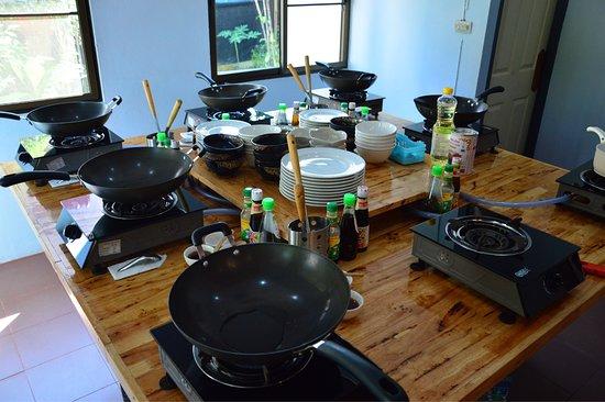 Akha Kitchen: Cooking class/škola vaření