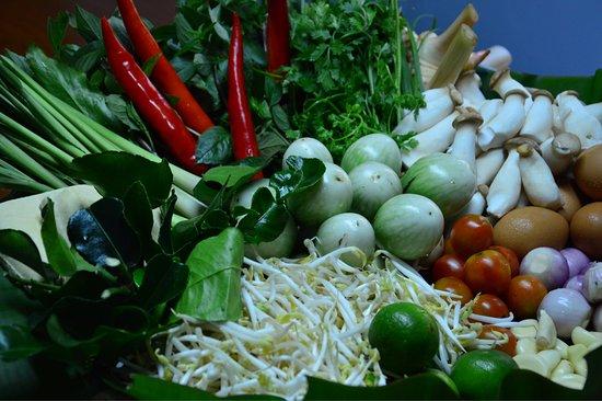 Akha Kitchen: Fresh vegetable/čerstvá zelenina
