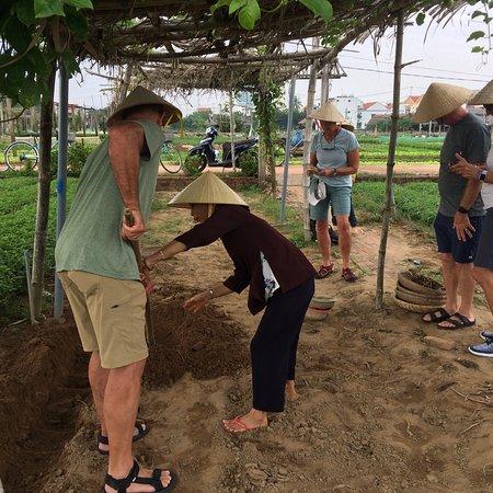 Farming experience tour with Hoi An Eco Tourism