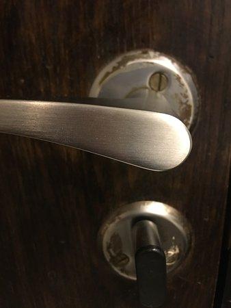 Old/ dirty door