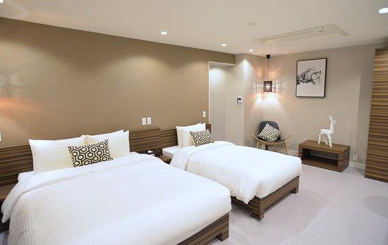 Hotel 88 Shinsaibashi: Standard Twin Room (Main Building)