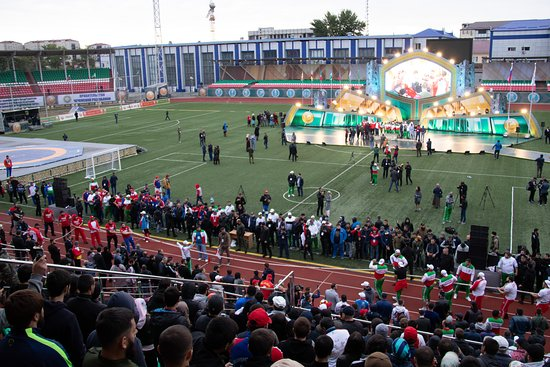 Grozny, Russia: Achmat arena