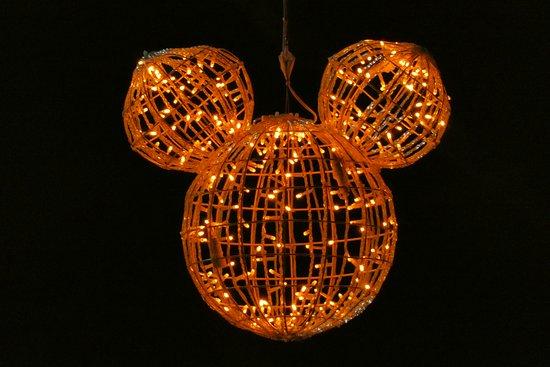90 Jahre Micky Maus Straßenbeleuchtung