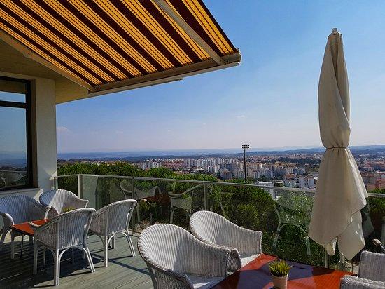 Melia Castelo Branco: Terrace