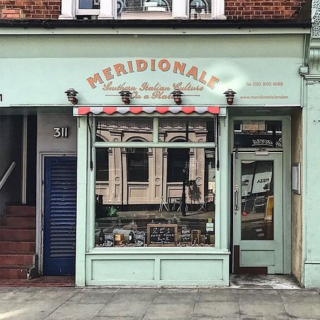 Meridionale: Our little restaurant.