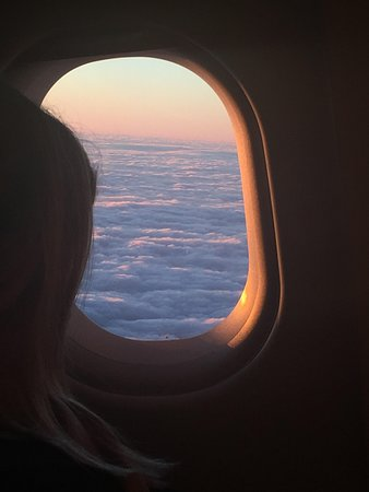British Airways: Head in the Clouds - view from BA window.