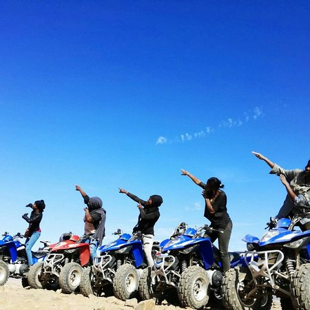 Enjoy and discover around marrakech in a quad bike . www.tafraoutvoyage.com phone : +212667471403