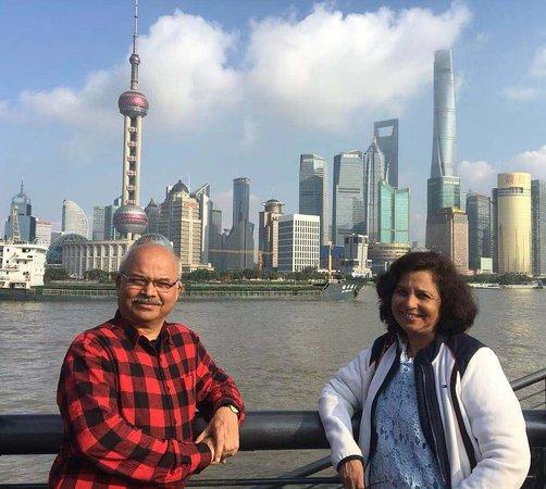 Чэнду, Китай: Shanghai skyline