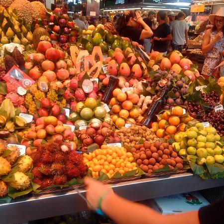 Esposizione di frutta