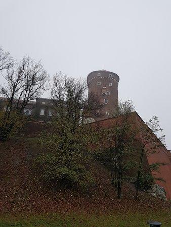 Wawel z zewnątrz
