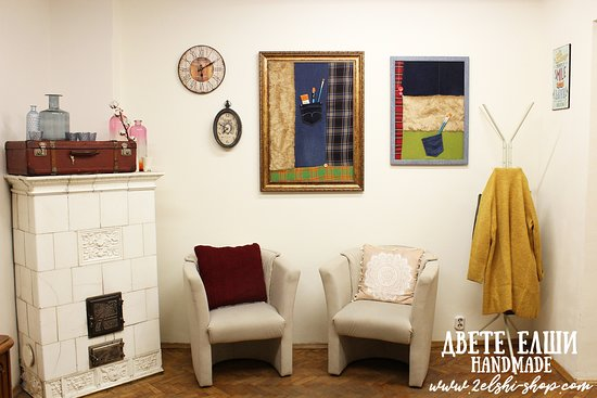 Our cosy and beautiful atelier!