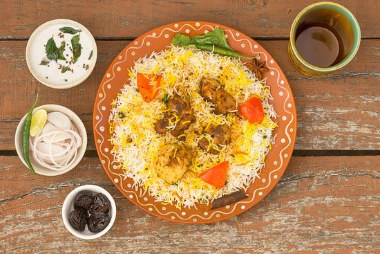 The Biryani Project: succulent malai chicken, flavoured potatoes, fresh bell peppers, spiced with our secret bohri masala - a delish mint flavoured biryani. get ready to experience the bohri food coma.