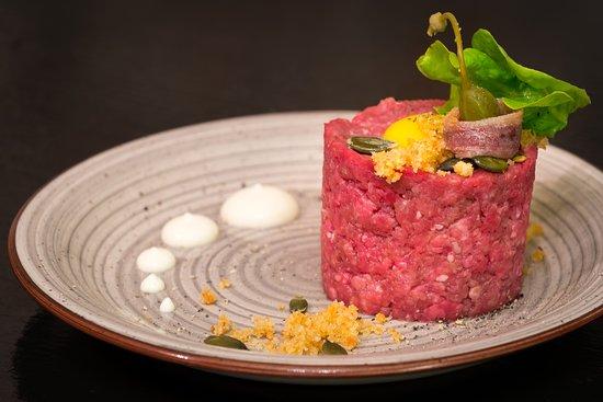 Caveau Enoteca Gastronomica: Tartare all'ancienne