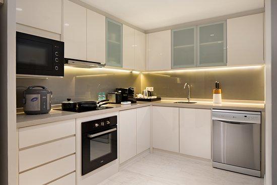 Two Bedroom Apartment - Kithcen
