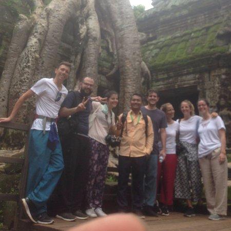 Cambo First Travel: Ta Prohm