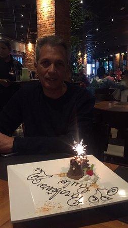 Aniversário do meu Pai, Almoço em Família.