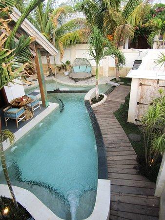 Private Villa, pool view