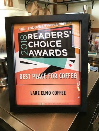 We are so proud to be the 2018 Readers Choice Award for Best Place for Coffee!