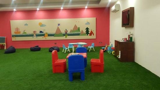 Useless Kids Area, Not worth going inside.
