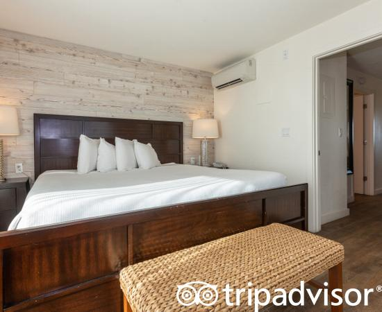 The King Suite at the Skipjack Resort Suites & Marina